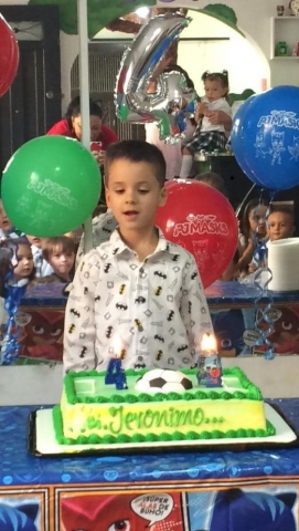 Cumpleaños de Jeronimo Escobar Ayala